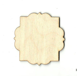 Decorative Shape - Laser Cut Wood Bsc9 Craft Supply
