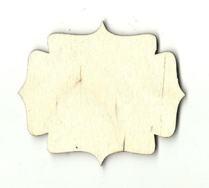 Decorative Shape - Laser Cut Wood Bsc3 Craft Supply