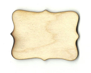 Decorative Shape - Laser Cut Wood Bsc16 Craft Supply