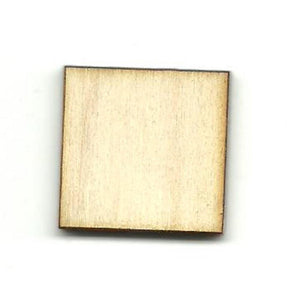 Square - Laser Cut Wood Shape Bsc15 Craft Supply