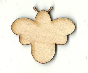 Bee - Laser Cut Wood Shape BUG103