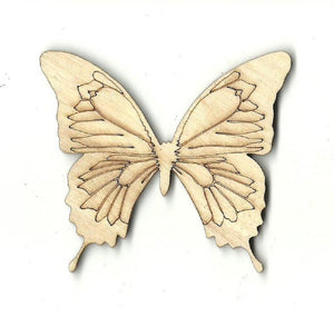 Butterfly - Laser Cut Wood Shape Bug15 Craft Supply