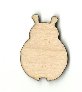 Ladybug - Laser Cut Wood Shape Bug76 Craft Supply