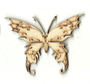 Butterfly - Laser Cut Wood Shape Bug33 Craft Supply