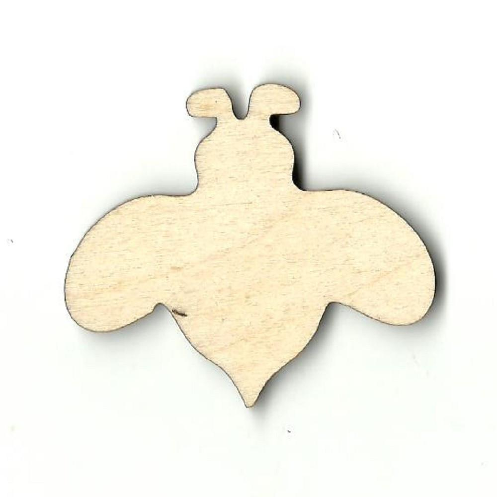 Bumblebee Bee - Laser Cut Wood Shape Bug37 Craft Supply