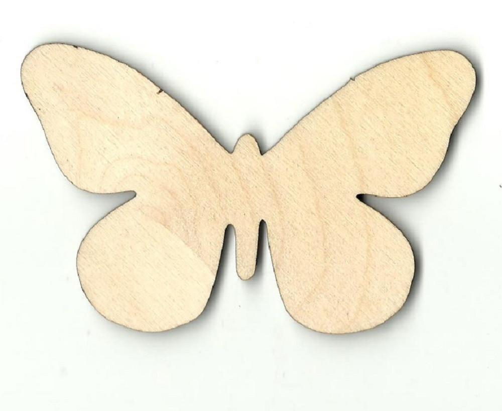 Butterfly - Laser Cut Wood Shape Bug42 Craft Supply
