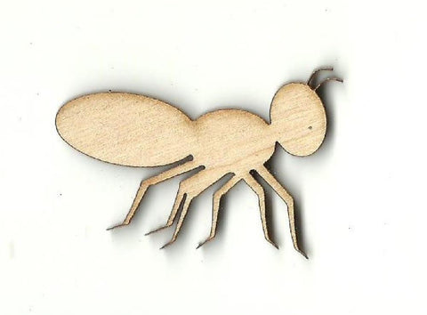 Ant - Laser Cut Wood Shape Bug59 Craft Supply