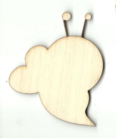 Bee - Laser Cut Wood Shape Bug95 Craft Supply