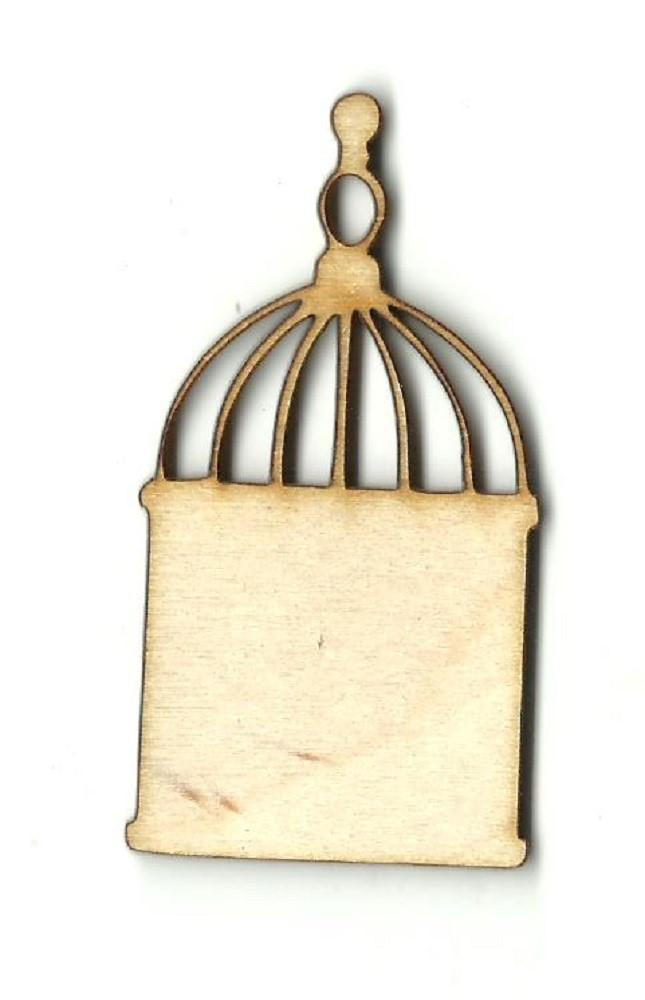 Bird Cage - Laser Cut Wood Shape Cag12 Craft Supply