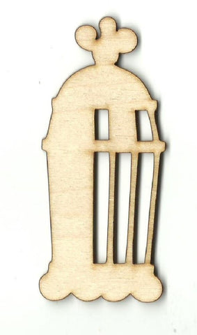 Bird Cage - Laser Cut Wood Shape Cag8 Craft Supply