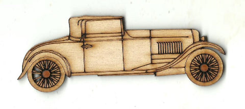 Car - Laser Cut Wood Shape CAR128