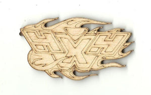 4X4 Sign - Laser Cut Wood Shape Car31 Craft Supply