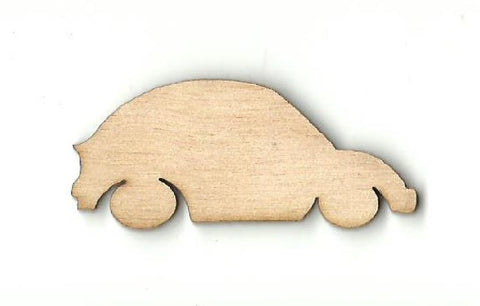 Car - Laser Cut Wood Shape Car42 Craft Supply
