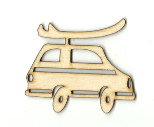 Woody Car - Laser Cut Wood Shape Car81 Craft Supply