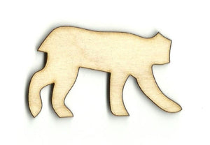 Cougar Wild Cat - Laser Cut Wood Shape Cat8 Craft Supply