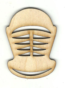 Armor Helmet - Laser Cut Wood Shape CLT108