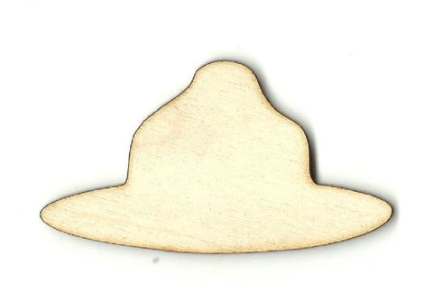 Canadian Mounty Hat - Laser Cut Wood Shape Clt59 Craft Supply