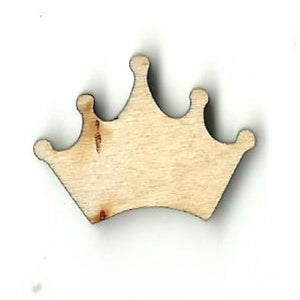 Crown - Laser Cut Wood Shape Clt56 Craft Supply