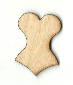 Corset - Laser Cut Wood Shape Clt31 Craft Supply