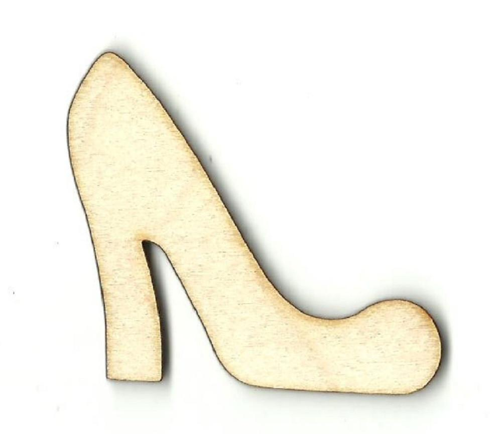 High Heel Pump - Laser Cut Wood Shape Clt47 Craft Supply