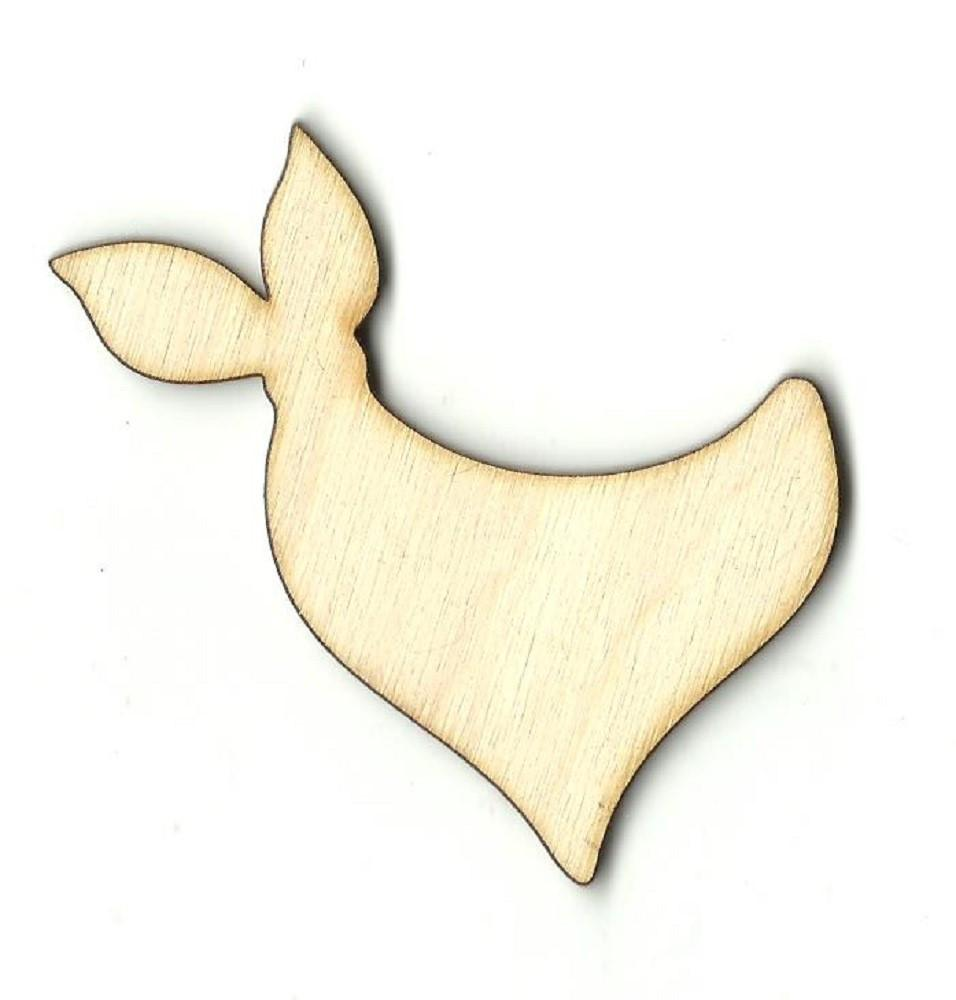 Bandana - Laser Cut Wood Shape Clt45 Craft Supply