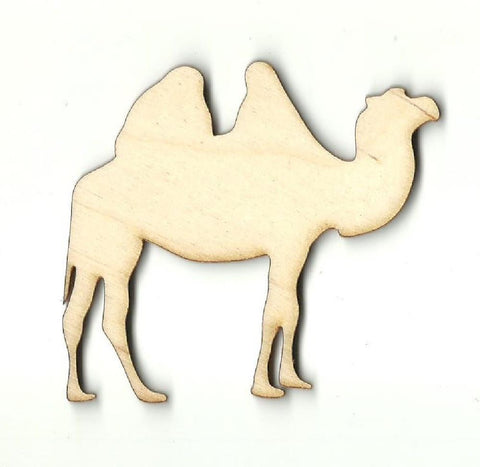 Laser Cut Out Unfinished Wood Shape Craft Supply CML7 Camel