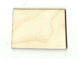 Colorado Us State - Laser Cut Wood Shape Craft Supply