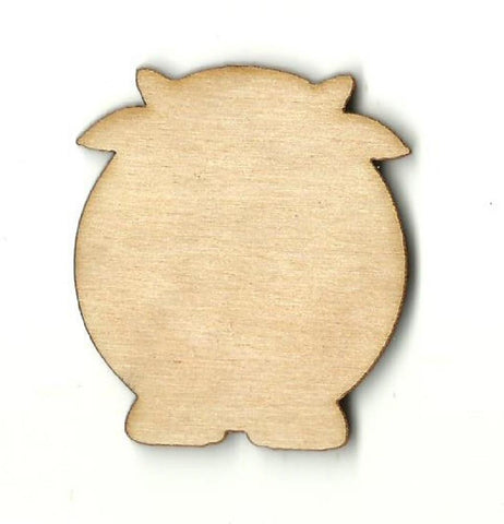 Cow - Laser Cut Wood Shape Cow10 Craft Supply