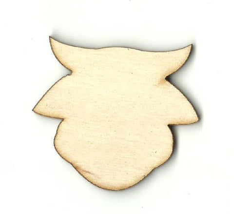 Cow - Laser Cut Wood Shape Cow11 Craft Supply