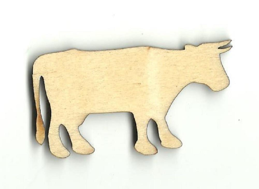 Cow - Laser Cut Wood Shape Cow16 Craft Supply