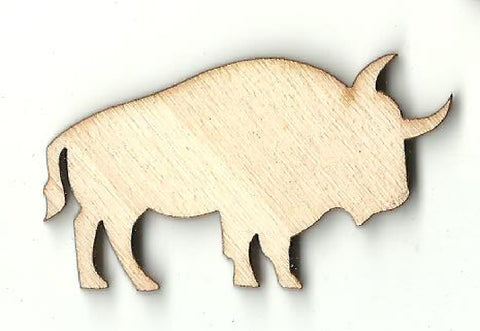 Bull Steer  - Laser Cut Wood Shape COW23