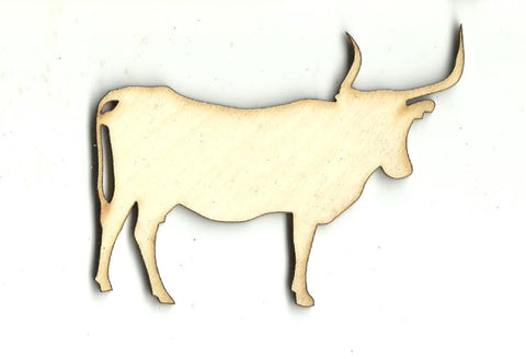 Bull - Laser Cut Wood Shape COW26