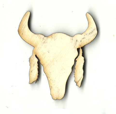 Bull - Laser Cut Wood Shape COW29