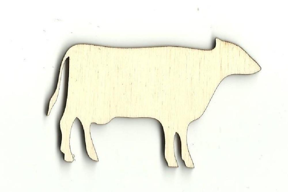 Cow - Laser Cut Wood Shape Cow3 Craft Supply
