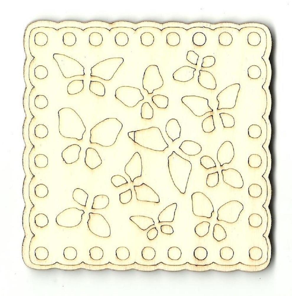 Butterfly Design - Laser Cut Wood Shape Cstr21 Craft Supply