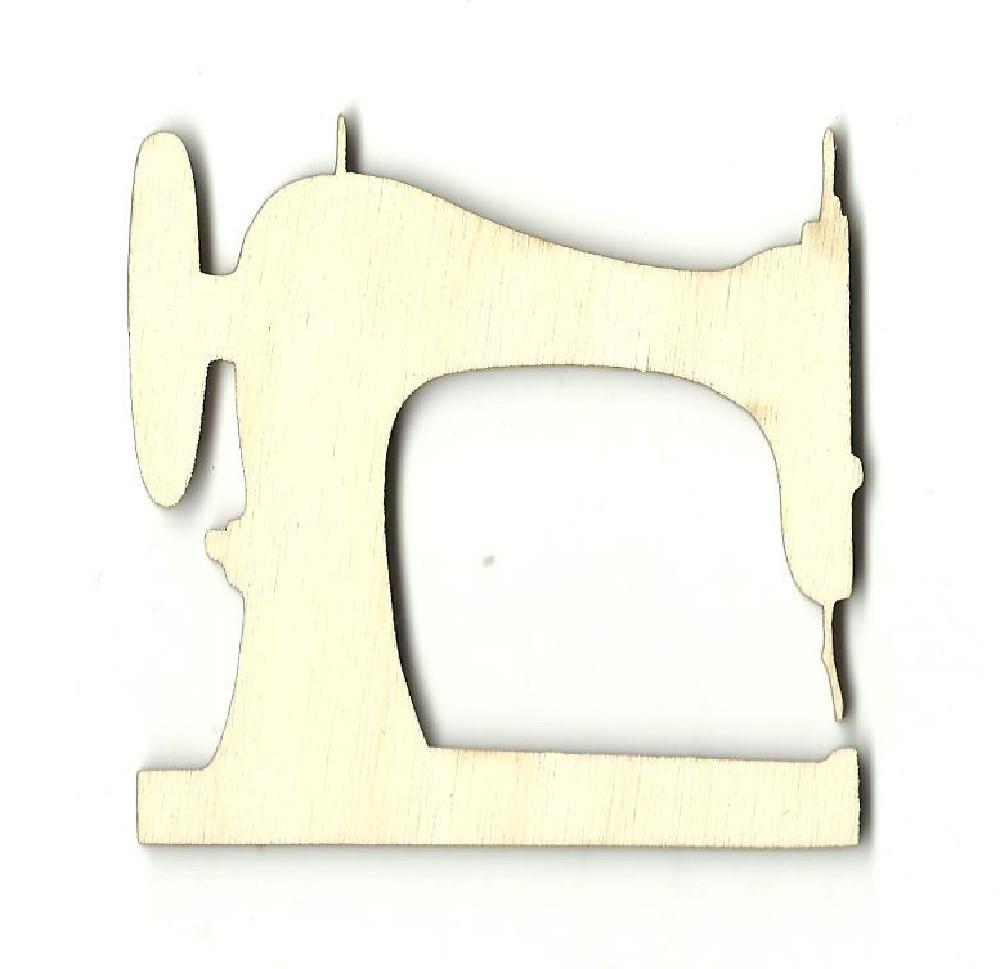 Sewing Machine - Laser Cut Wood Shape Dcr32 Craft Supply