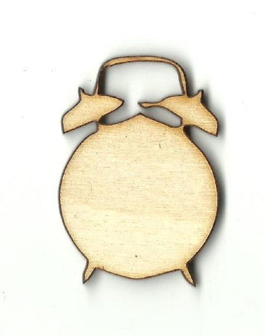 Alarm Clock - Laser Cut Wood Shape Dcr30 Craft Supply
