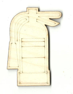 Fire Extinguisher - Laser Cut Wood Shape DCR49