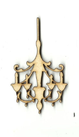 Chandelier - Laser Cut Wood Shape Dcr23 Craft Supply