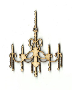 Chandelier - Laser Cut Wood Shape Dcr22 Craft Supply
