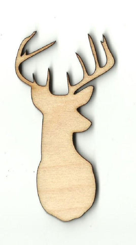 Deer - Laser Cut Wood Shape Der33 Craft Supply