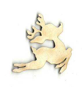 Reindeer - Laser Cut Wood Shape Der1 Craft Supply