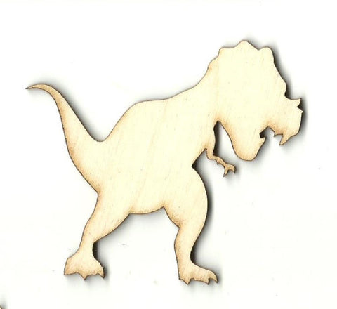 Dinosaur - Laser Cut Wood Shape Din30 Craft Supply