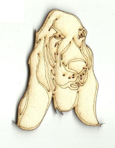 Basset Hound Dog - Laser Cut Wood Shape DOG111