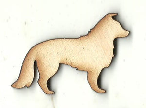 Puppy Dog - Laser Cut Wood Shape DOG145
