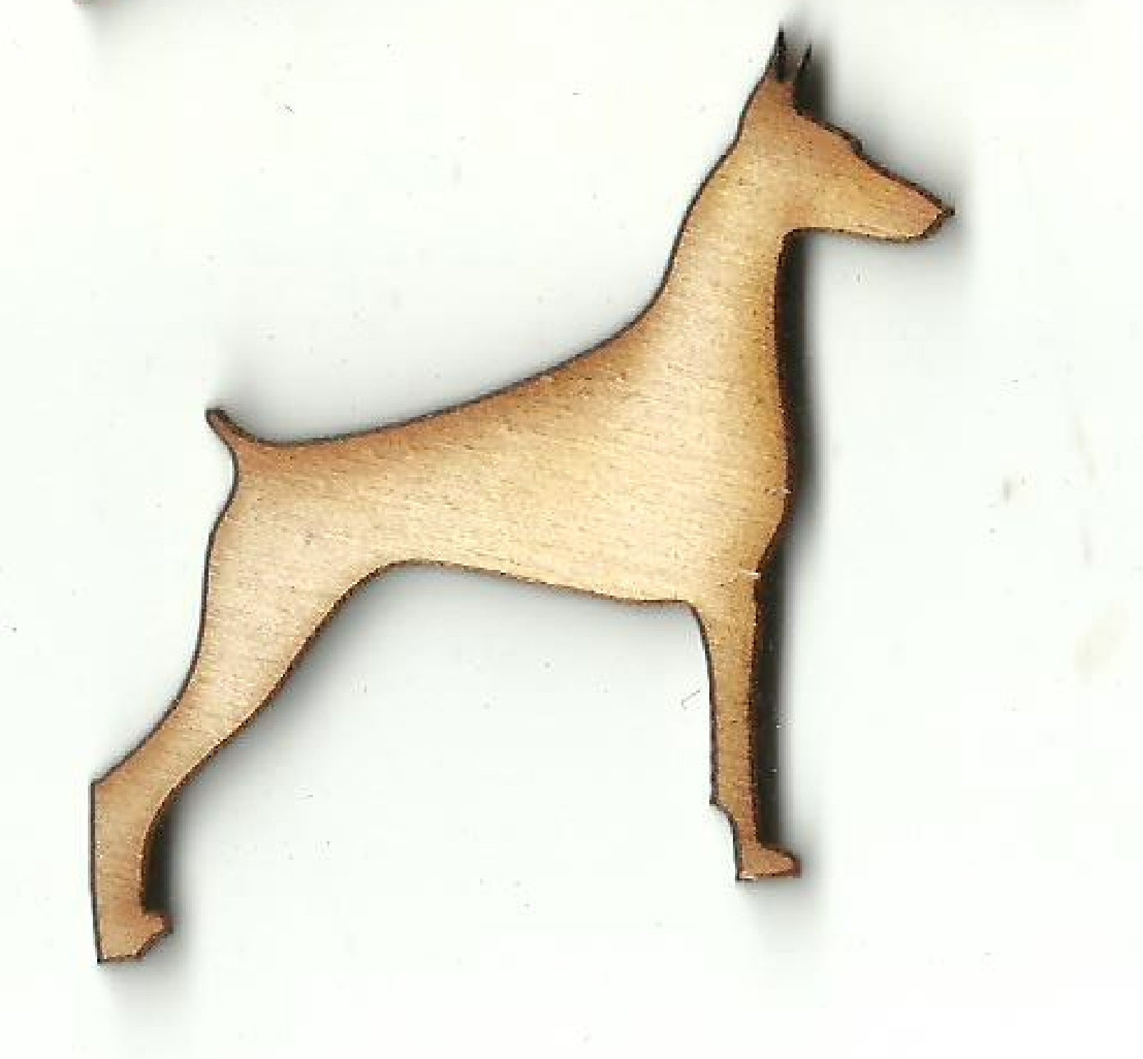 Doberman Dog - Laser Cut Wood Shape DOG148