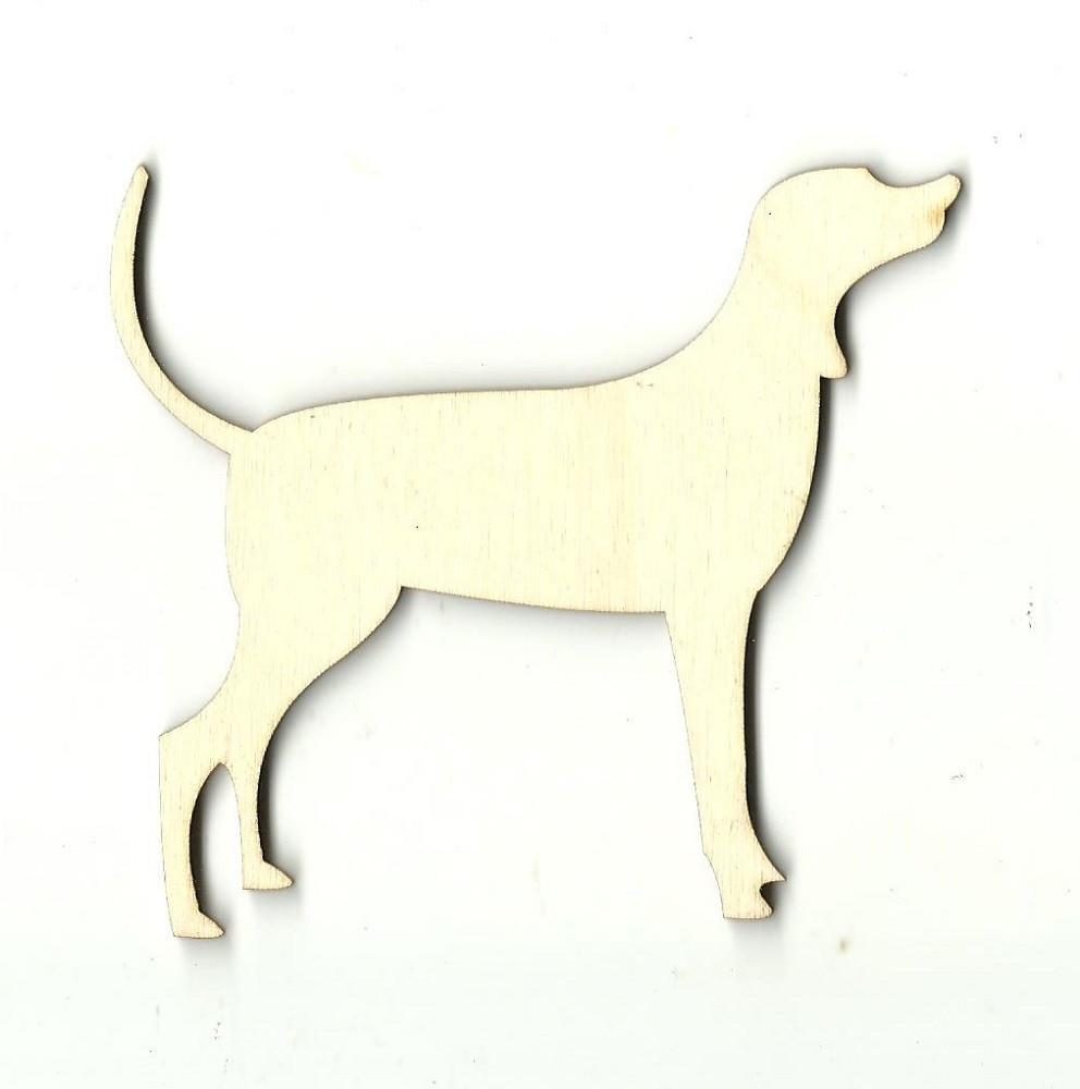 Labrador Dog - Laser Cut Wood Shape Dog50 Craft Supply