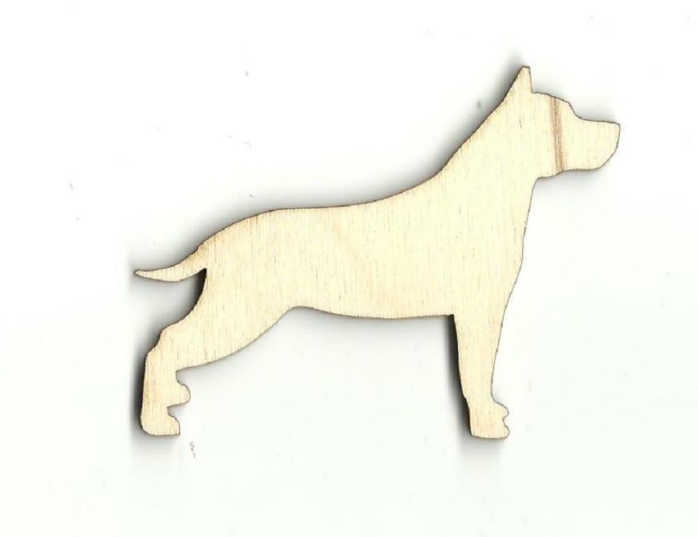 Dog - Laser Cut Wood Shape Dog18 Craft Supply