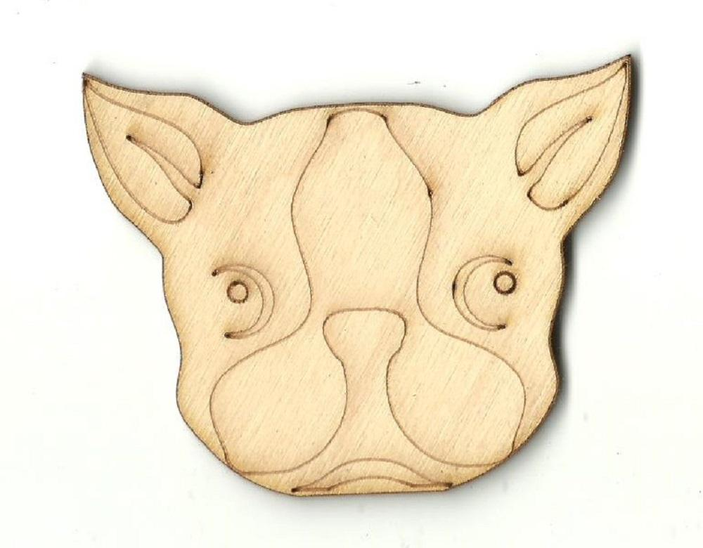 Puppy Dog - Laser Cut Wood Shape Dog83 Craft Supply