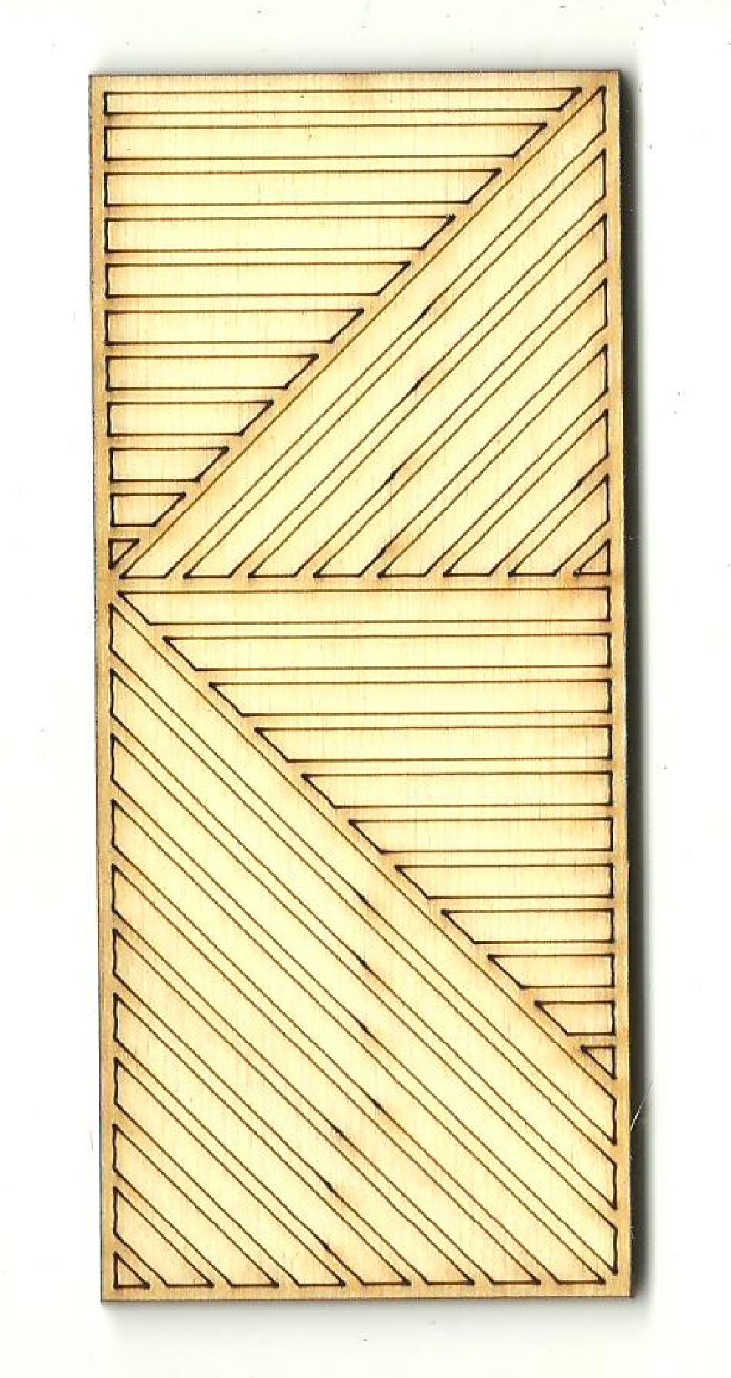 Panel Design - Laser Cut Wood Shape DSN102